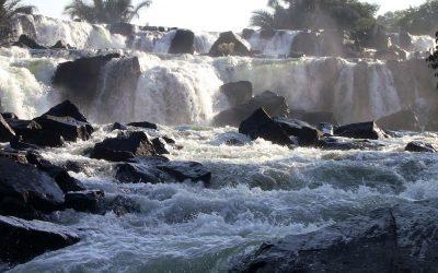 Ngonye Falls, Zambia.
